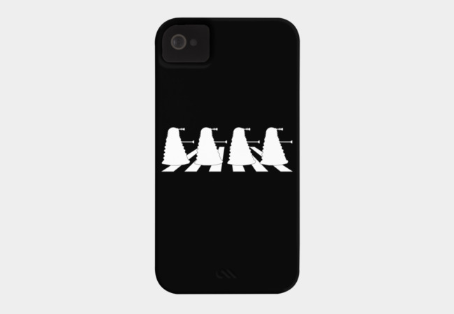 Exterminate Abbey Road Phone Case - Design By Humans