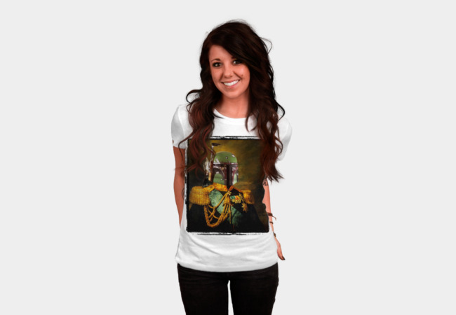 Portrait of Boba Fett T-Shirt - Design By Humans