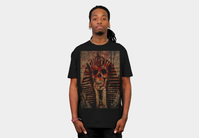 Pharaoh Skull T-Shirt - Design By Humans