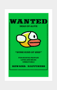 WANTED: Some kind of bird