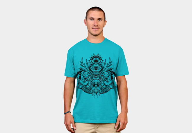 SPACE ILLUMINATI T-Shirt - Design By Humans