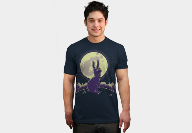 The Rabbit T-Shirt - Design By Humans