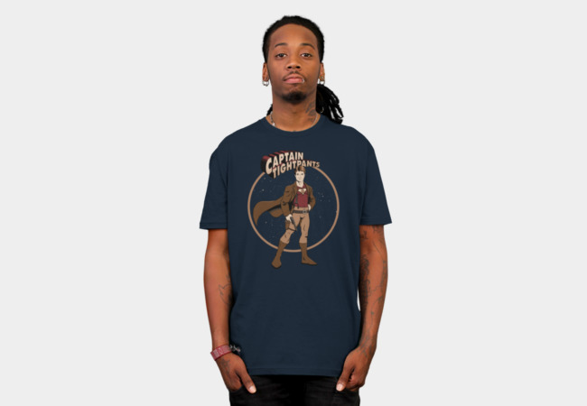 Captain Tightpants T-Shirt - Design By Humans