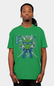 Blue Oni Ninja Turtle