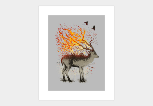 DeerForestation Art Print - Design By Humans