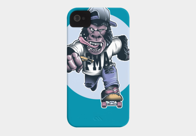 Keep Pushing Phone Case - Design By Humans