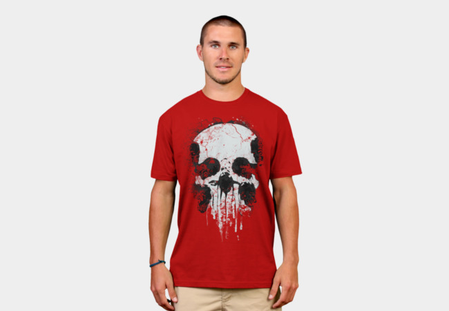Zombie Skull T-Shirt - Design By Humans