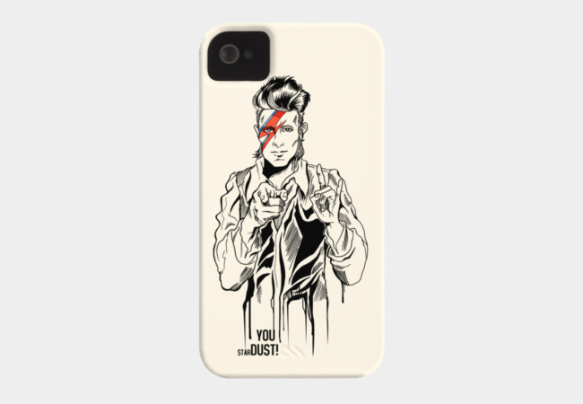 Bowie! Phone Case - Design By Humans