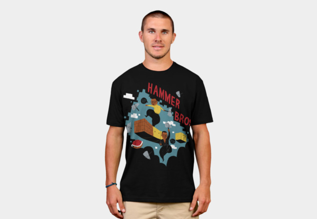hammer bros T-Shirt - Design By Humans