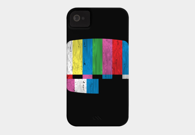 Test Pattern Phone Case - Design By Humans
