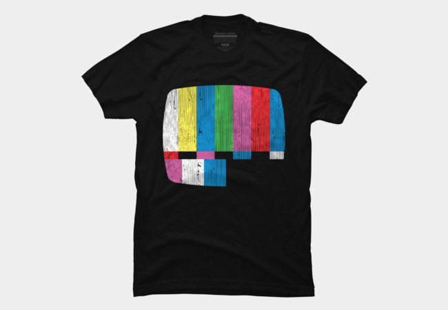Test Pattern Men's T-Shirt