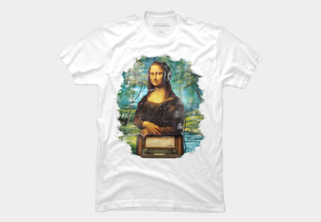 Mona Listens Men's T-Shirt