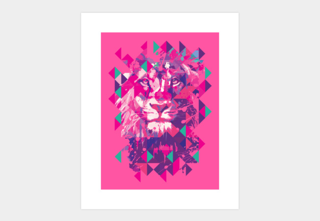 Lion's life Art Print - Design By Humans