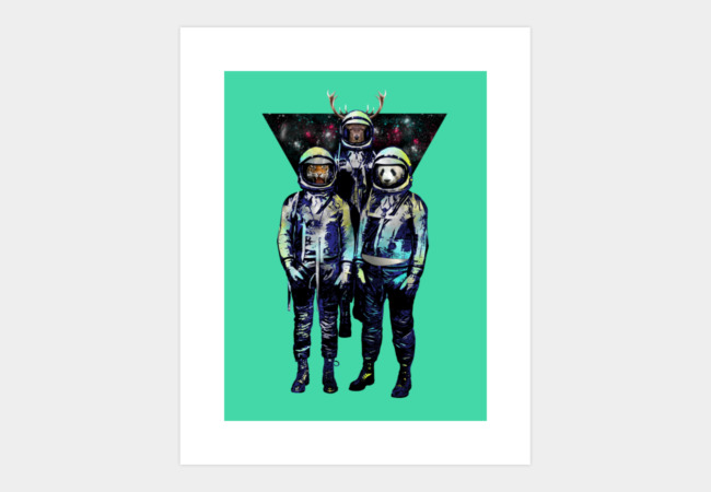 THE 3 ASTROGES Art Print - Design By Humans