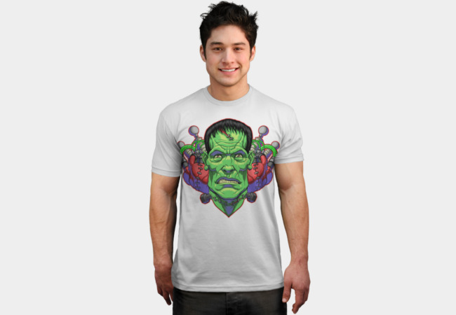 The Monster T-Shirt - Design By Humans