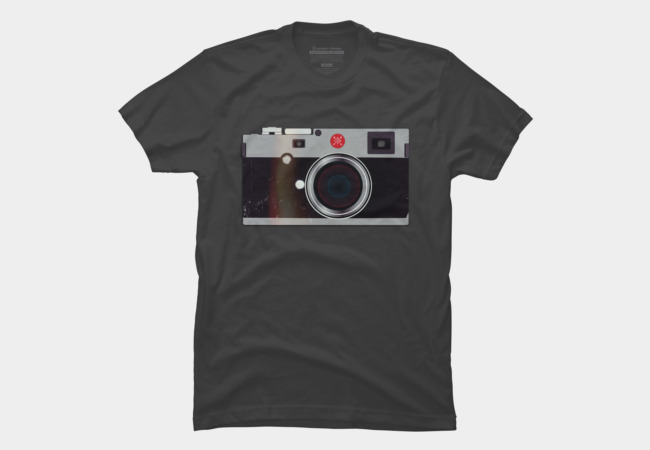 Leica Style Camera Men's T-Shirt
