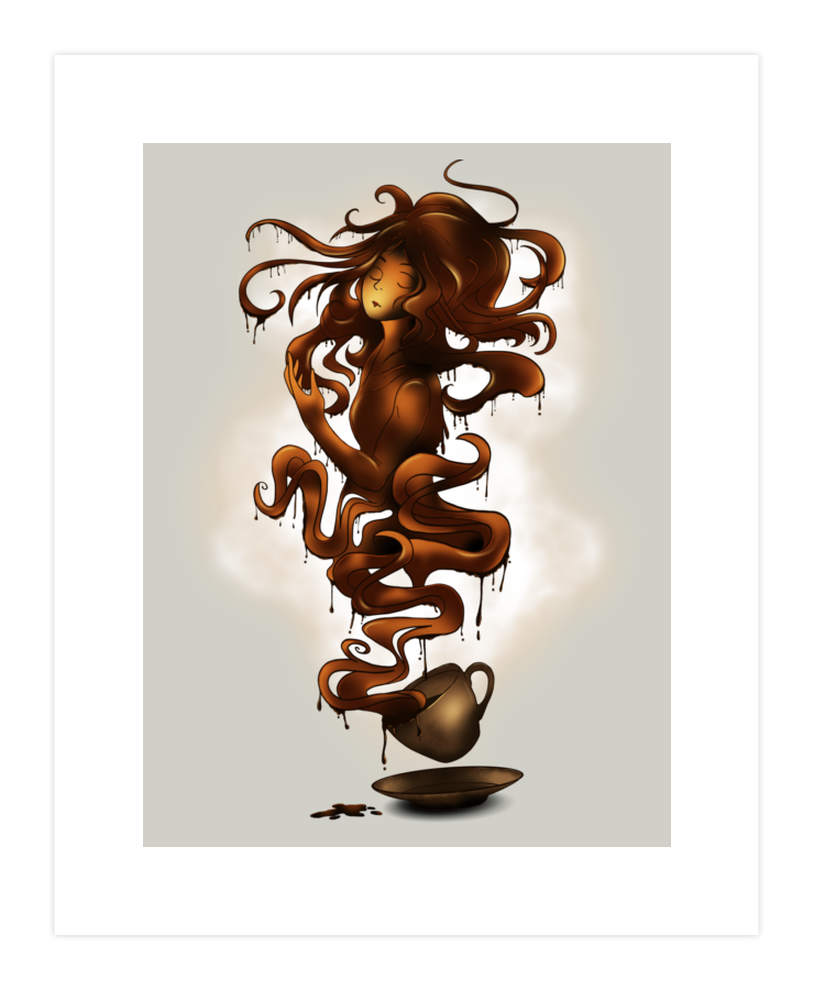 a cup of coffee Art Print 37114