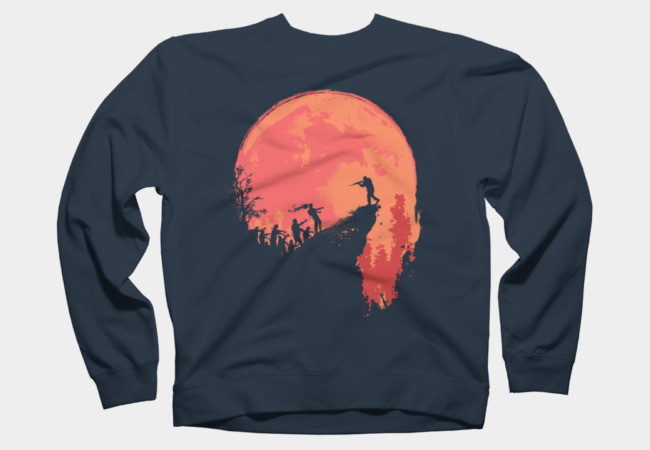 Last stand - The Zombie invasion Sweatshirt