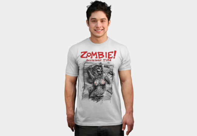 Zombie! T-Shirt - Design By Humans