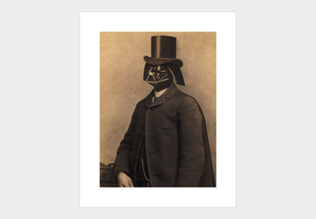 Lord Vadersworth Art Print - Design By Humans