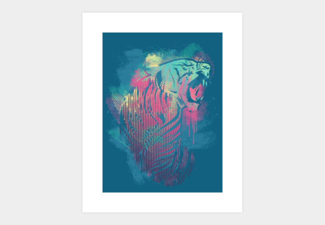 urban animal v.2 Art Print - Design By Humans