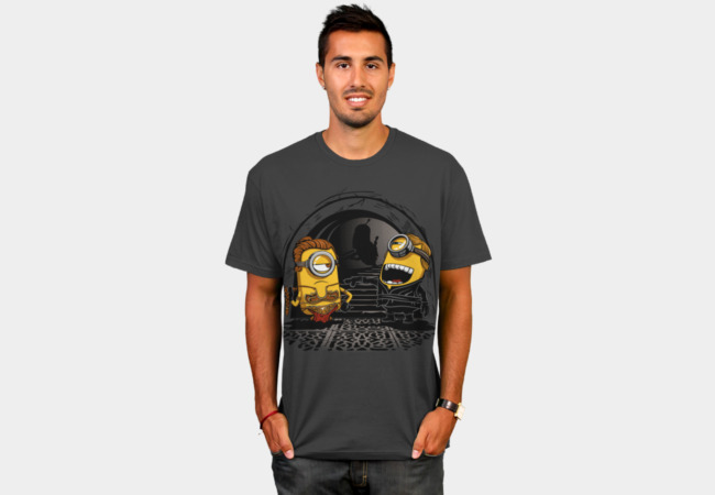 Despicable Twins T-Shirt - Design By Humans