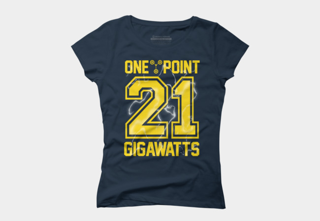 1.21 Gigawatts Women's T-Shirt