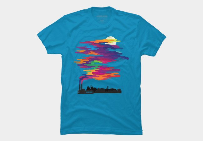 Hidden in the smog (day) Men's T-Shirt