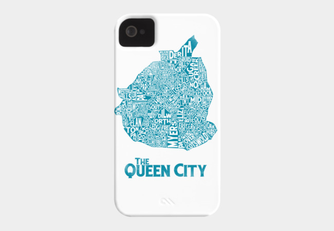 The QC Phone Case - Design By Humans