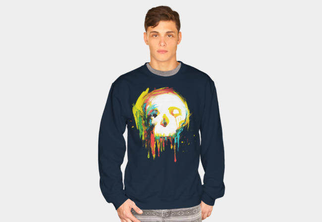 Happy/Grim Sweatshirt - Design By Humans