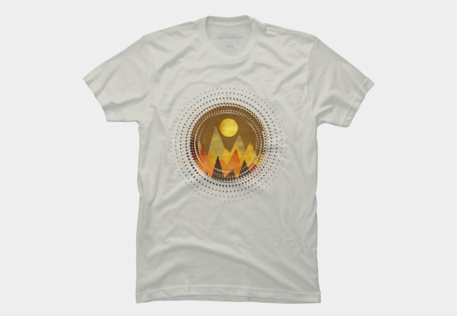 Retro landscape II Men's T-Shirt
