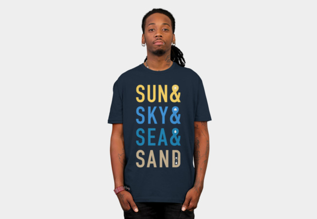 Fun In The Sun T-Shirt - Design By Humans