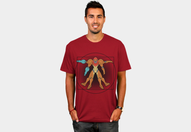 Vitruvian Bounty Hunter T-Shirt - Design By Humans