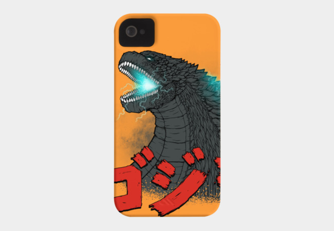 Mighty Kaiju Gojira Phone Case - Design By Humans