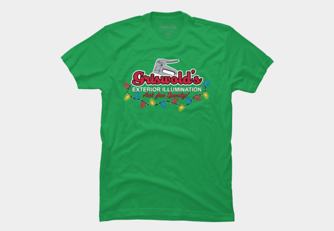 Griswold's Exterior Illumination Men's T-Shirt