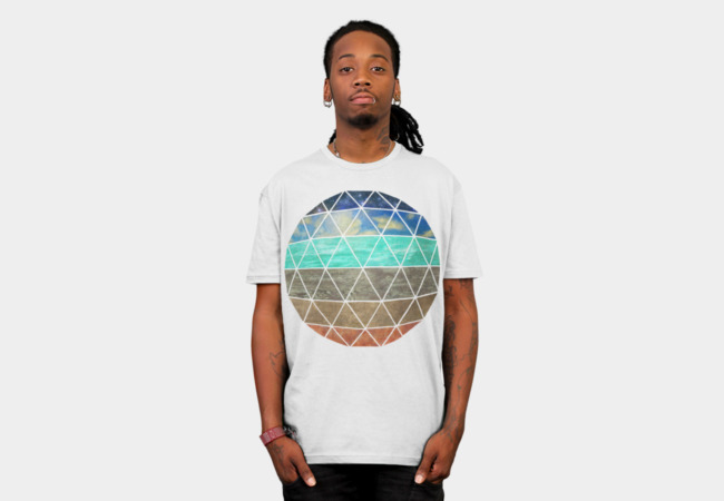 Strata Geodesic T-Shirt - Design By Humans