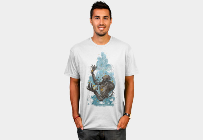 Robot Nature T-Shirt - Design By Humans