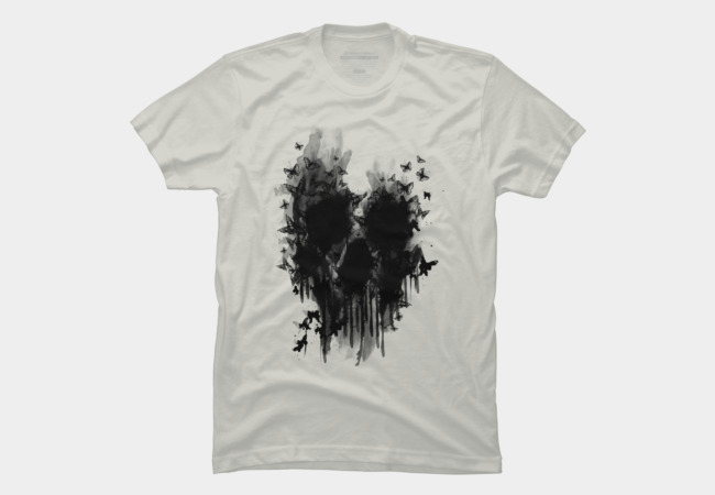 butterfly skull Men's T-Shirt