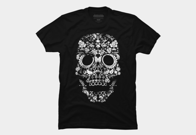 Day of the Dead Skull Men's T-Shirt