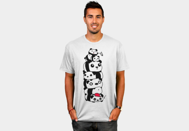 Stack of Pandas T-Shirt - Design By Humans