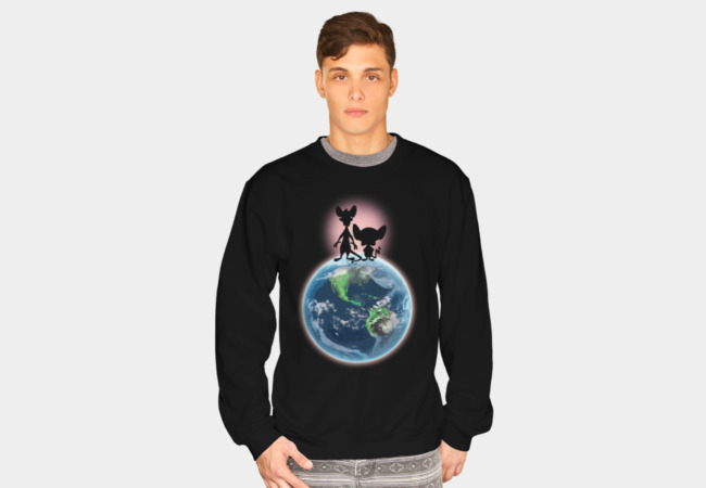 Take Over The World! Sweatshirt - Design By Humans