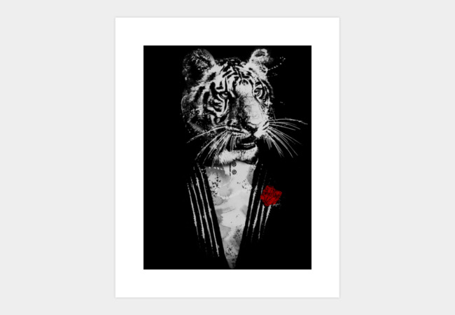 The Boss Art Print - Design By Humans