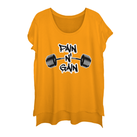 PAIN N' GAIN BODYBUILDING MOTIVATION SHIRT