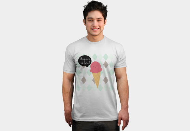 Summer is here! T-Shirt - Design By Humans