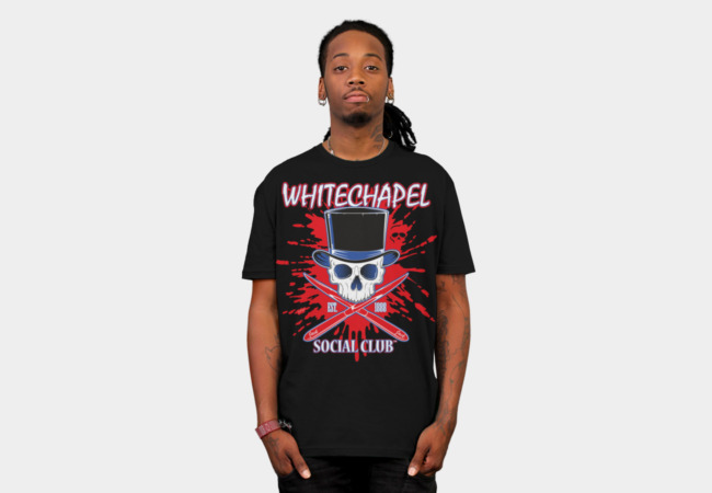 Whitechapel Social Club 2 T-Shirt - Design By Humans
