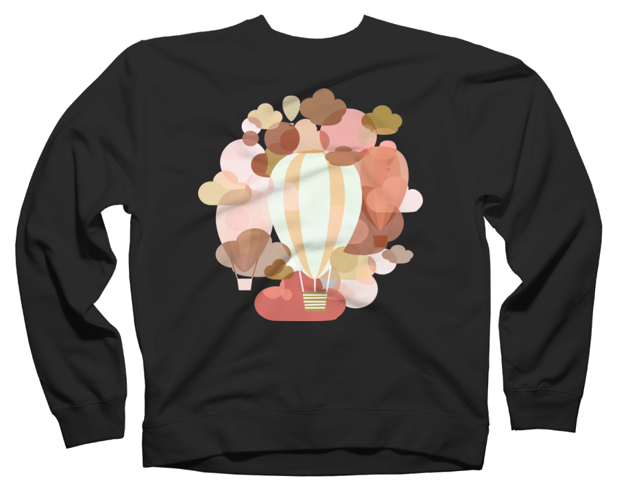 Among the Clouds Crew Neck Sweatshirt 593212