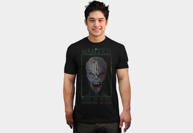 Unknown Alien T-Shirt - Design By Humans