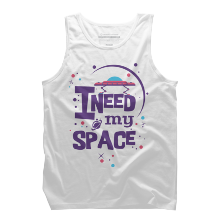 I Need My Space - Typography