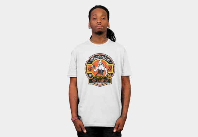 Retro Oktoberfest T-Shirt - Design By Humans