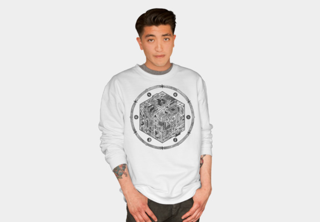 The Folly of Time and Space, Explained Sweatshirt - Design By Humans